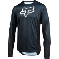 Fox Racing Demo LS Camo Burn Jersey:Navy:L