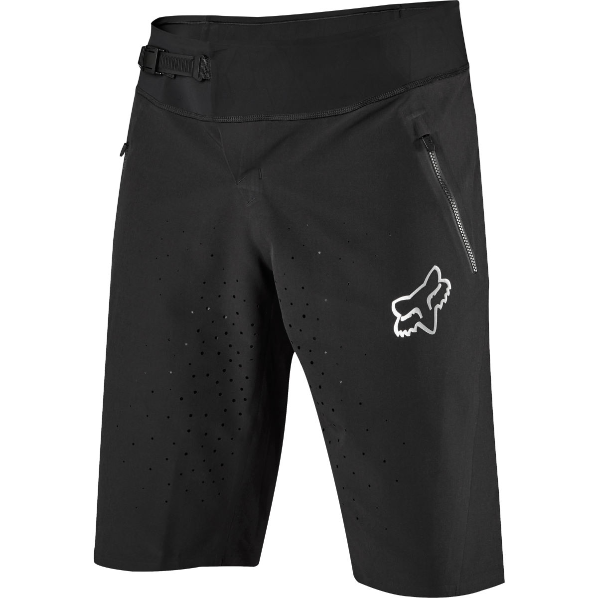 Fox Racing Attack Pro Shorts - 28 Black/Chrome | Baggy Cycling Shorts