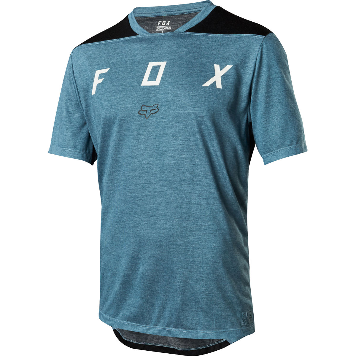 Fox Racing Indicator SS Mash Camo Jersey - XL Blue
