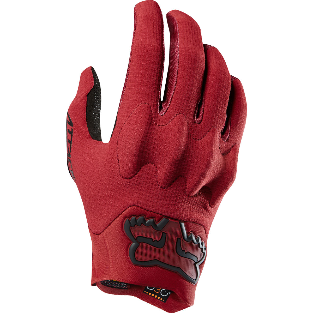 Fox Racing Attack Gloves Red L - S Dark Red | Long Finger Gloves