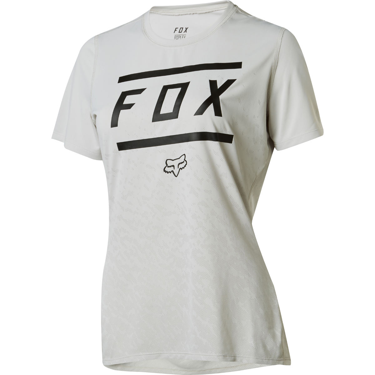 Fox Racing Women's Ripley SS Bars Jersey Grey S - S Grey