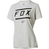 Fox Racing Womens Ripley SS Bars Jersey Gray S