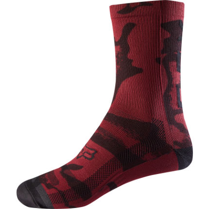 Fox Racing Women's 8 Print Socks
