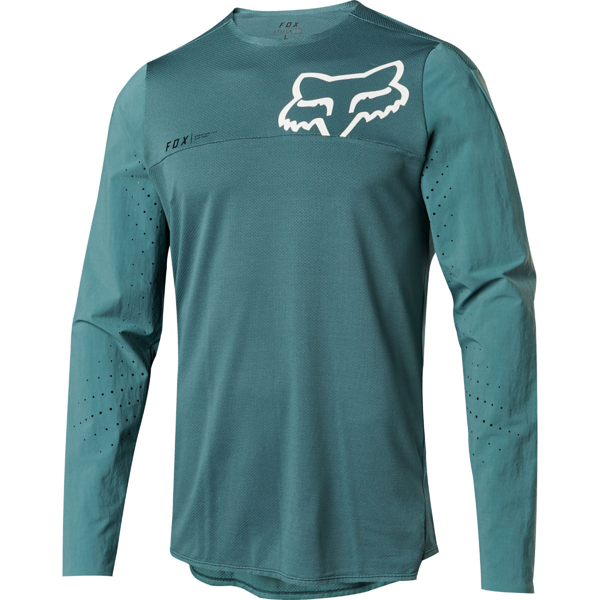 Fox Racing Attack Pro Jersey - L Pine | Long Sleeve Cycling Jerseys