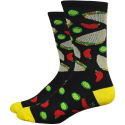 "DeFeet Aireator 6"" Taco Tuesday Socks"
