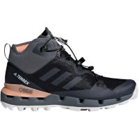 adidas Womens Terrex Fast Mid GTX-Surround Black/Pink UK