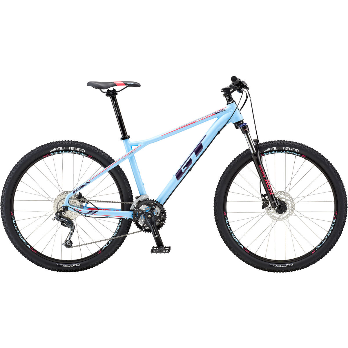 VTT semi-rigide Femme GT Avalanche Comp 27.5 - Large Stock Bike