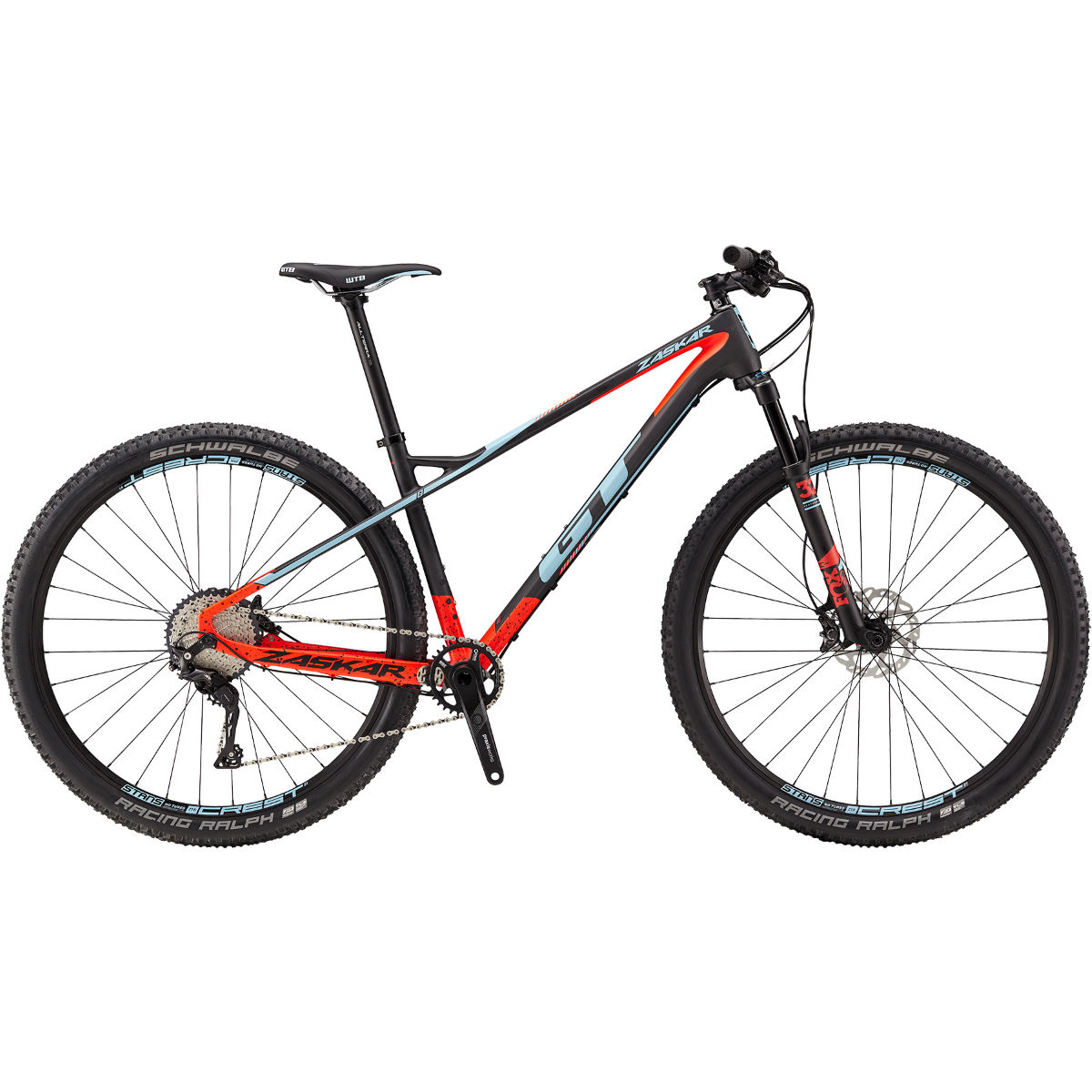 VTT semi-rigide GT Zaskar Carbon Expert - Small Stock Bike Carbone