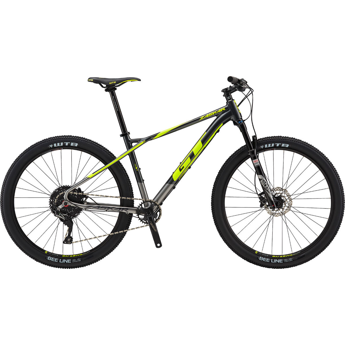 VTT semi-rigide GT Zaskar Al Comp - Medium Stock Bike Bronze