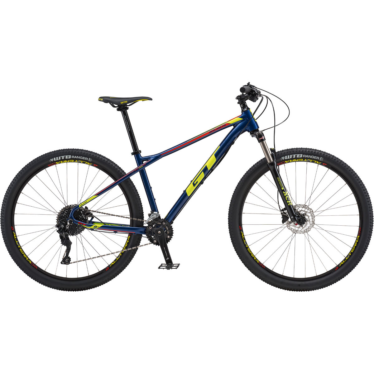 VTT semi-rigide GT Avalanche Elite 29 - Large Stock Bike Bleu marine