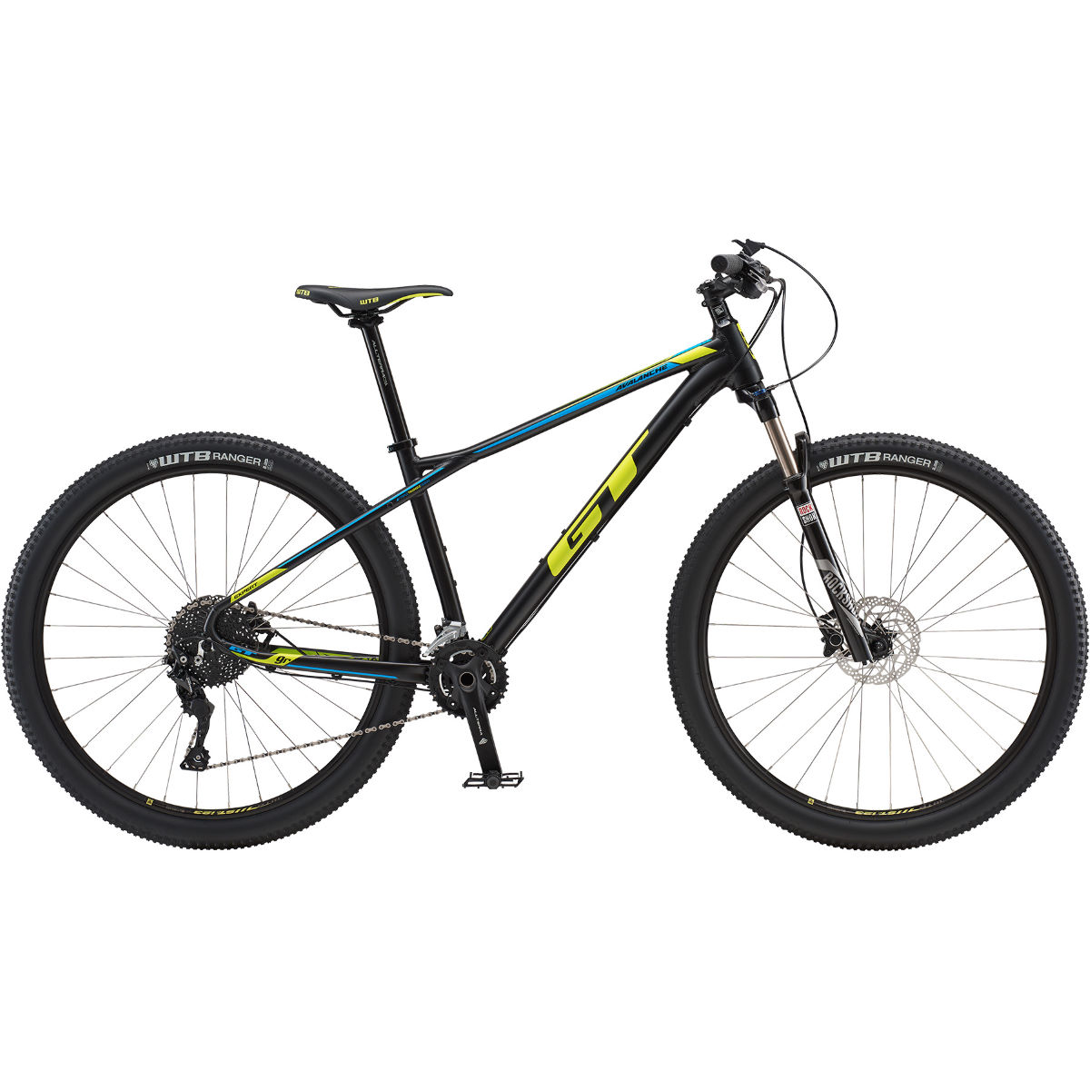 VTT semi-rigide GT Avalanche Expert 29 - Large Stock Bike Noir mat