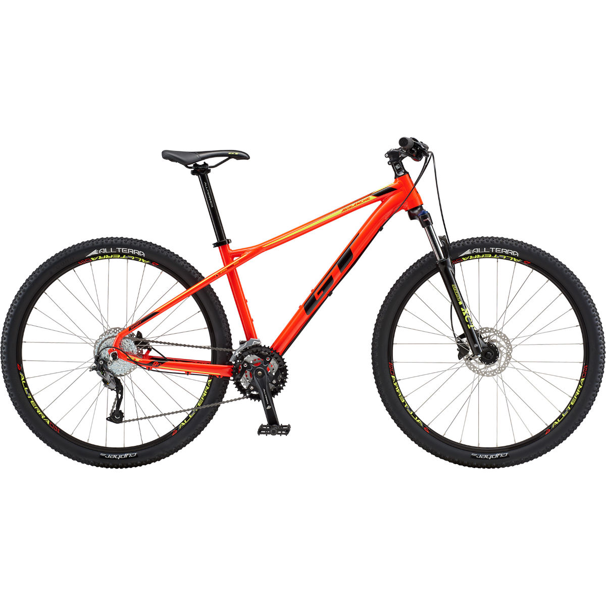 VTT semi-rigide GT Avalanche Sport 27.5 - Small Stock Bike Rouge