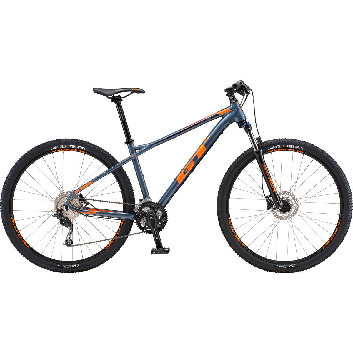 VTT semi-rigide GT Avalanche Comp 27.5 - Small Stock Bike Blue Steel