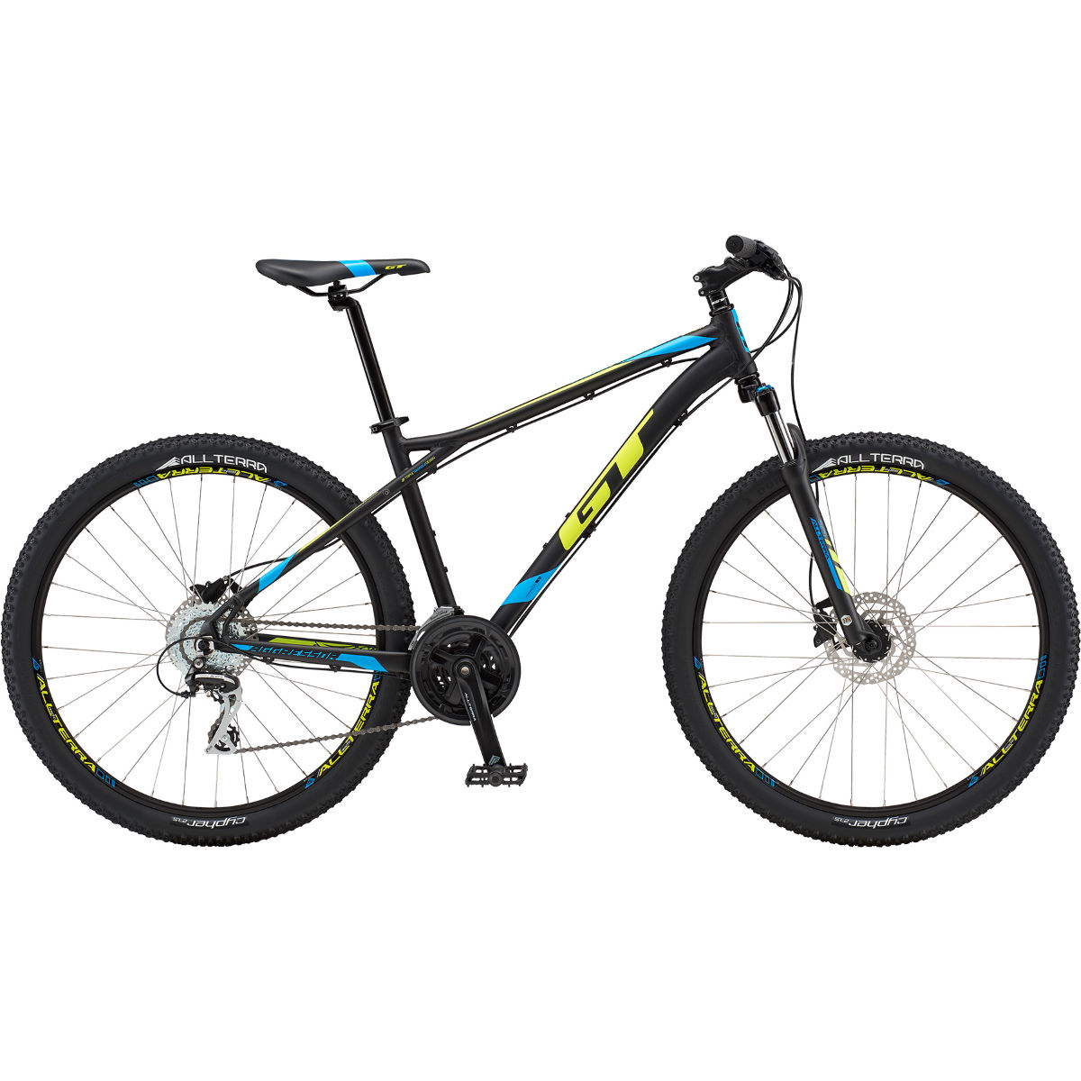 VTT semi-rigide GT Aggressor Expert 27.5 - Large Stock Bike Noir