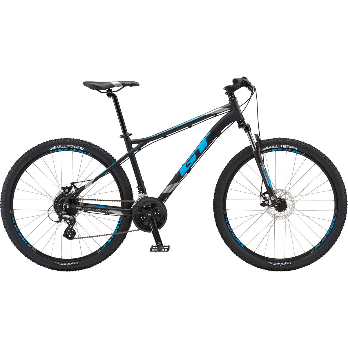 VTT semi-rigide GT Aggressor Comp 27.5 - Large Stock Bike Noir