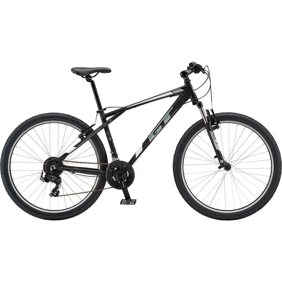 VTT semi-rigide GT Palomar Al 27.5 - Large Stock Bike Noir