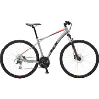 GT Transeo Elite Hybrid Sports Bike Silver L Stock Bi