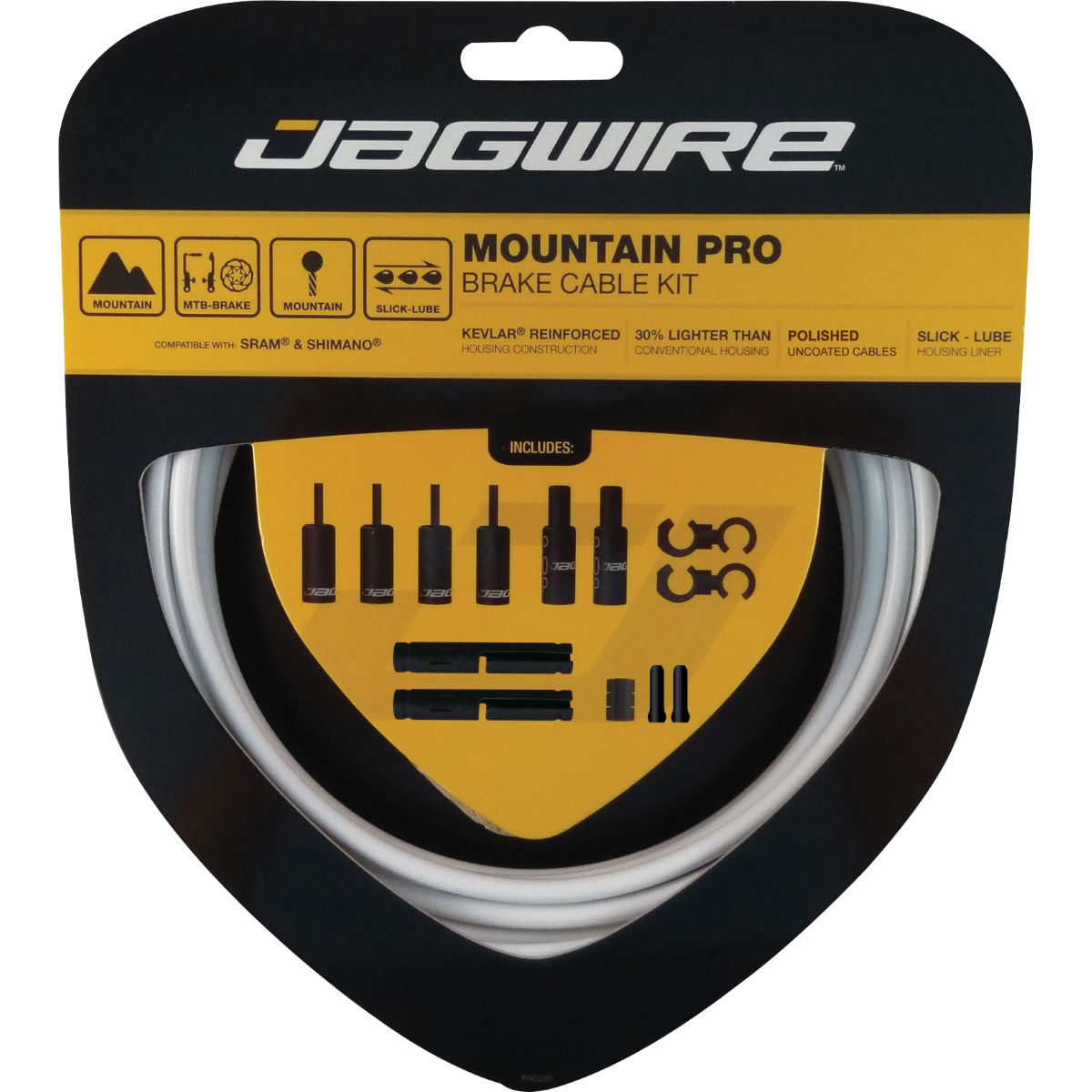 Jagwire Mountain Pro Brake Kit - Cables de freno