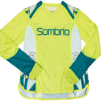 Sombrio Womens Burst Jersey (2016) Green L