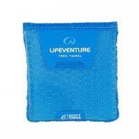 Lifeventure SoftFibre Advance Trek Towel - Pocket (Blue)