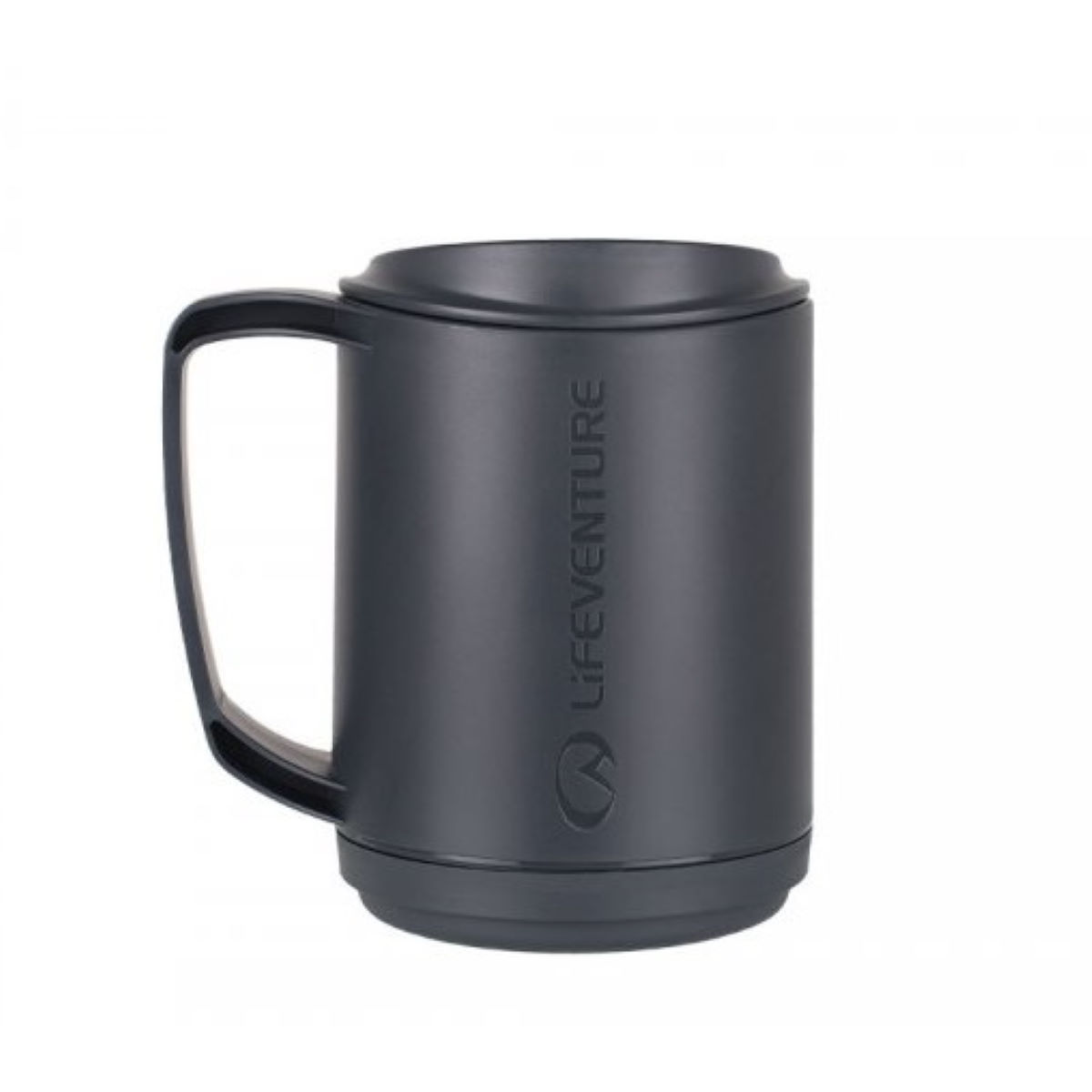 Lifeventure Ellipse Insulated Mug (Graphite) - Vajilla
