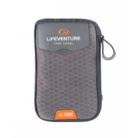Lifeventure HydroFibre Trek Towel - Large (Gray)