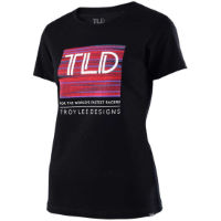 Troy Lee Designs Womens Electro Crew T-Shirt