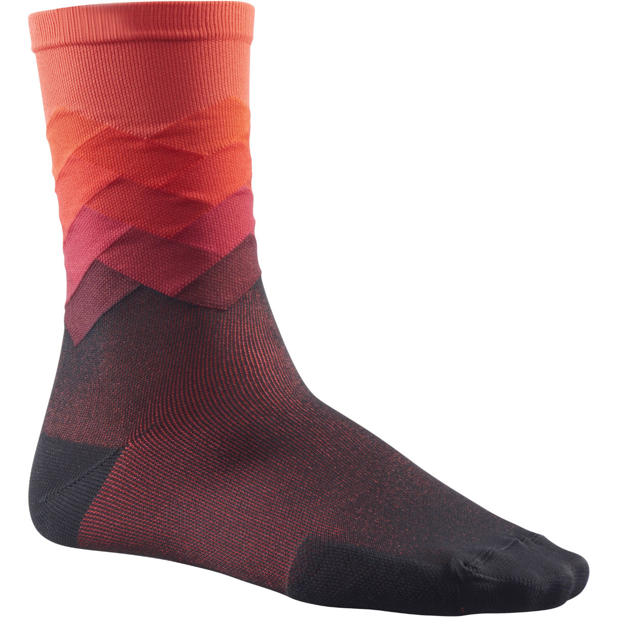Chaussettes Mavic Cosmic Graphic - 35-38 Fiery Red Chaussettes vélo