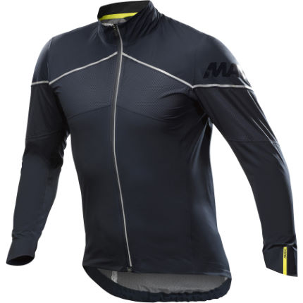 Mavic Cosmic H20 SL Jacket  Yellow/Black XL