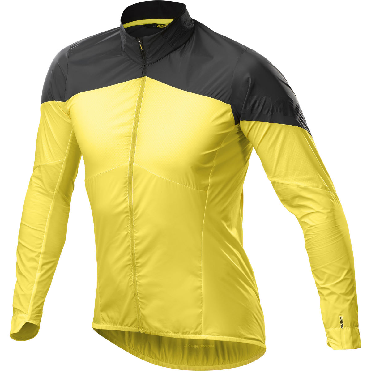 Veste Mavic Cosmic Wind SL - L Yellow Mavic/Black Vestes