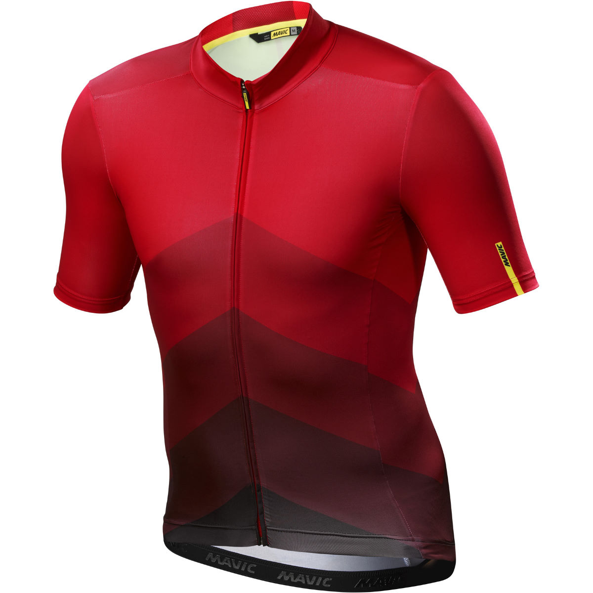 Maillot Mavic Cosmic Gradient - S Fiery Red