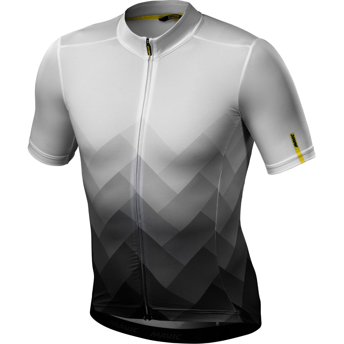 Maillot Mavic Cosmic Graphic - S Blanc