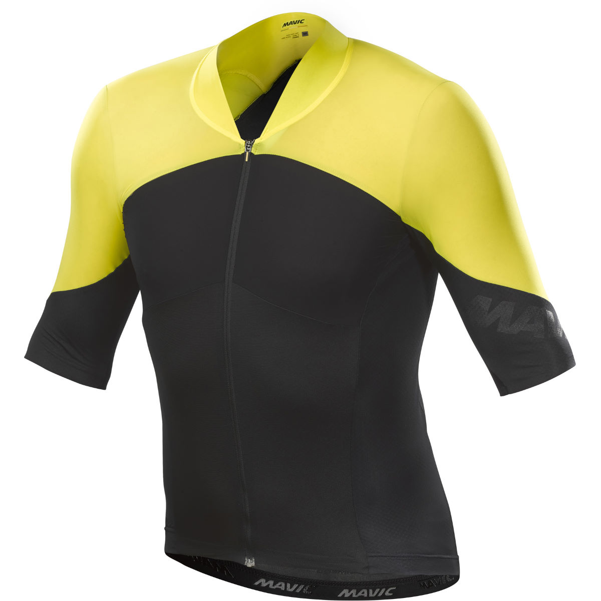 Maillot Mavic Cosmic Ultimate SL - S Black/Yellow Mavic Maillots