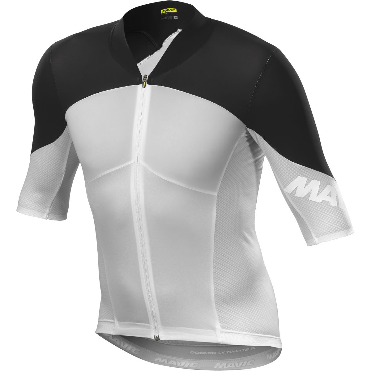 Maillot Mavic Cosmic Ultimate SL - XL Blanc/Noir