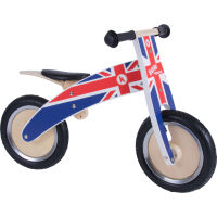Kiddimoto Union Jack Kurve Balance Bike