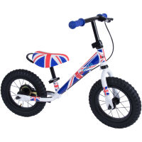 Kiddimoto Super Junior Max Union Jack Balance Bike