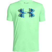 Under Armour Boys Tech Big Logo Solid Tee Green M