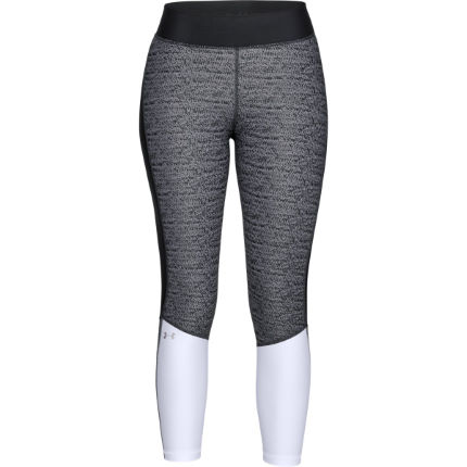 Under Armour Women's HeatGear Jacquard Ankle Crop