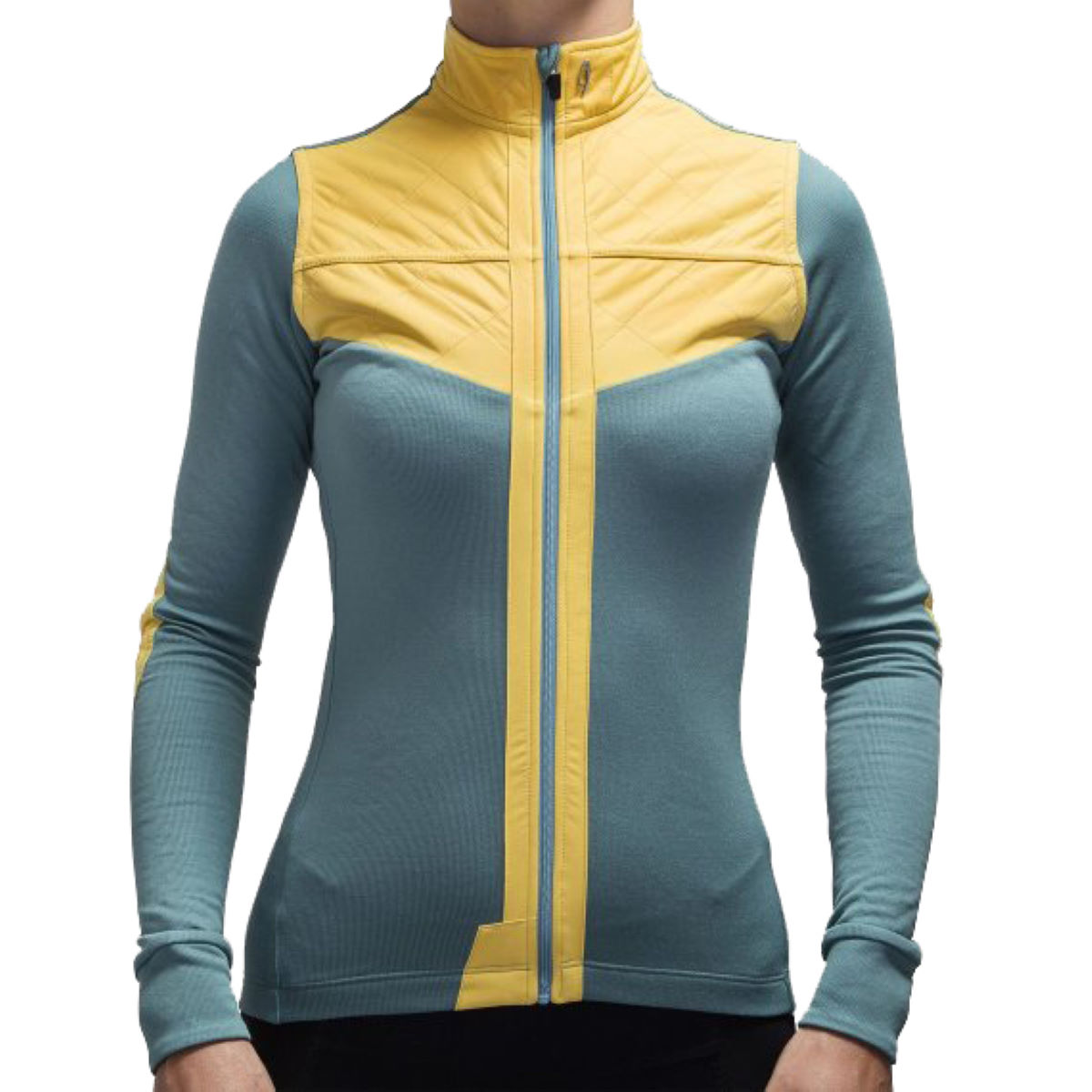 Isadore Women's Shield Long Sleeve Jersey Blue S - XS Arctic Blue