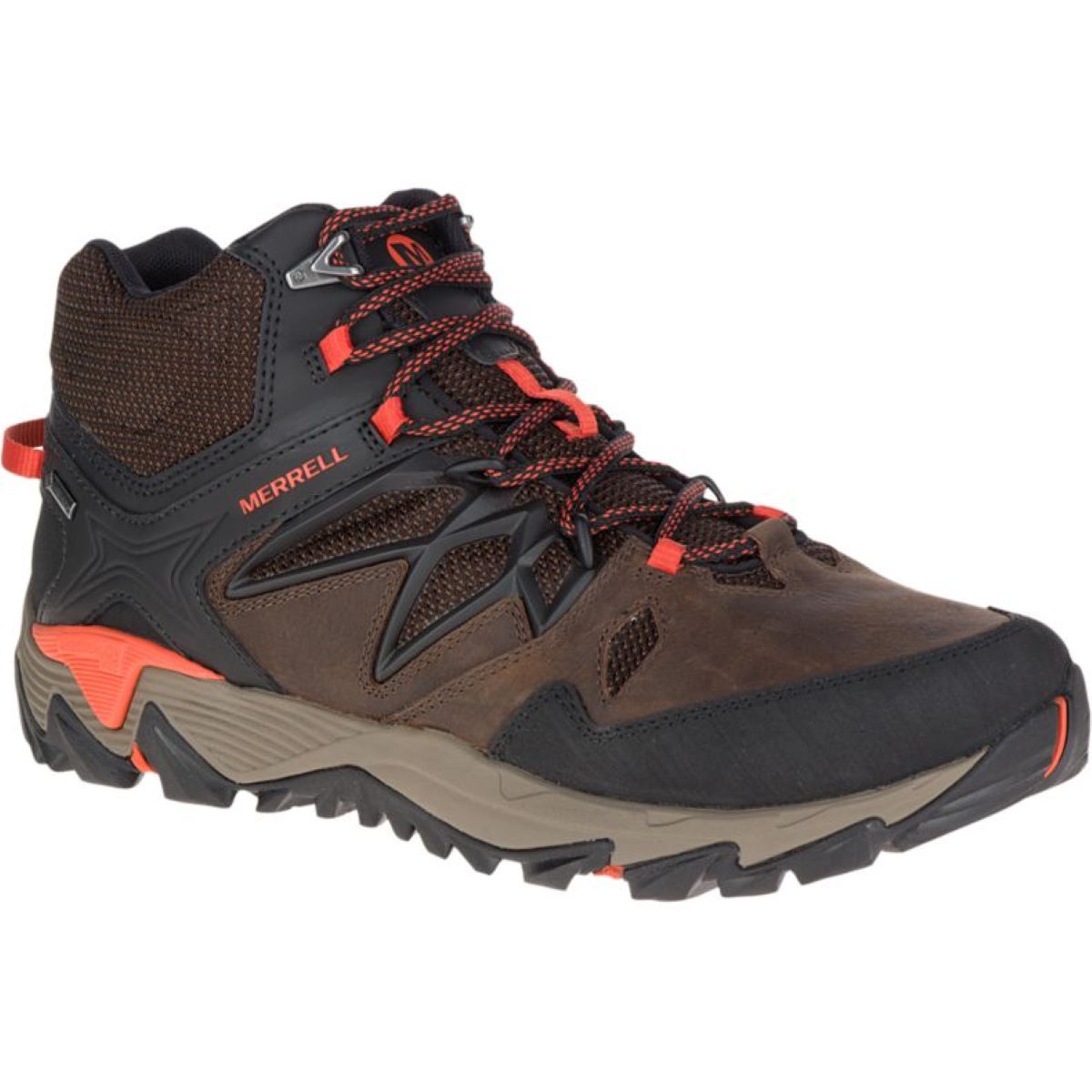 Merrell All Out Blaze 2 MID GTX   Brown/Red UK 8.5 - 10.5 Clay