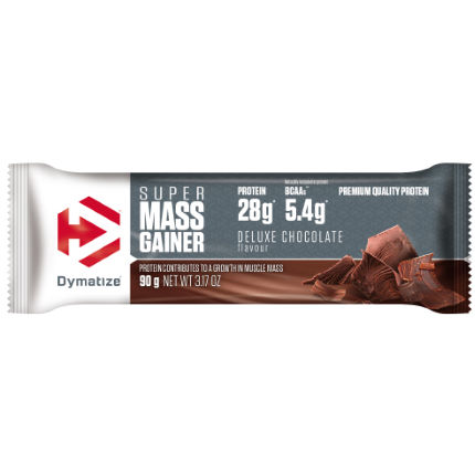 Dymatize Super Mass Gainer Bar (10x90g) BBF 02/04/2018