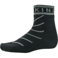 SealSkinz Super Thin Pro Ankle sock with Hydrostop  Red/Mult