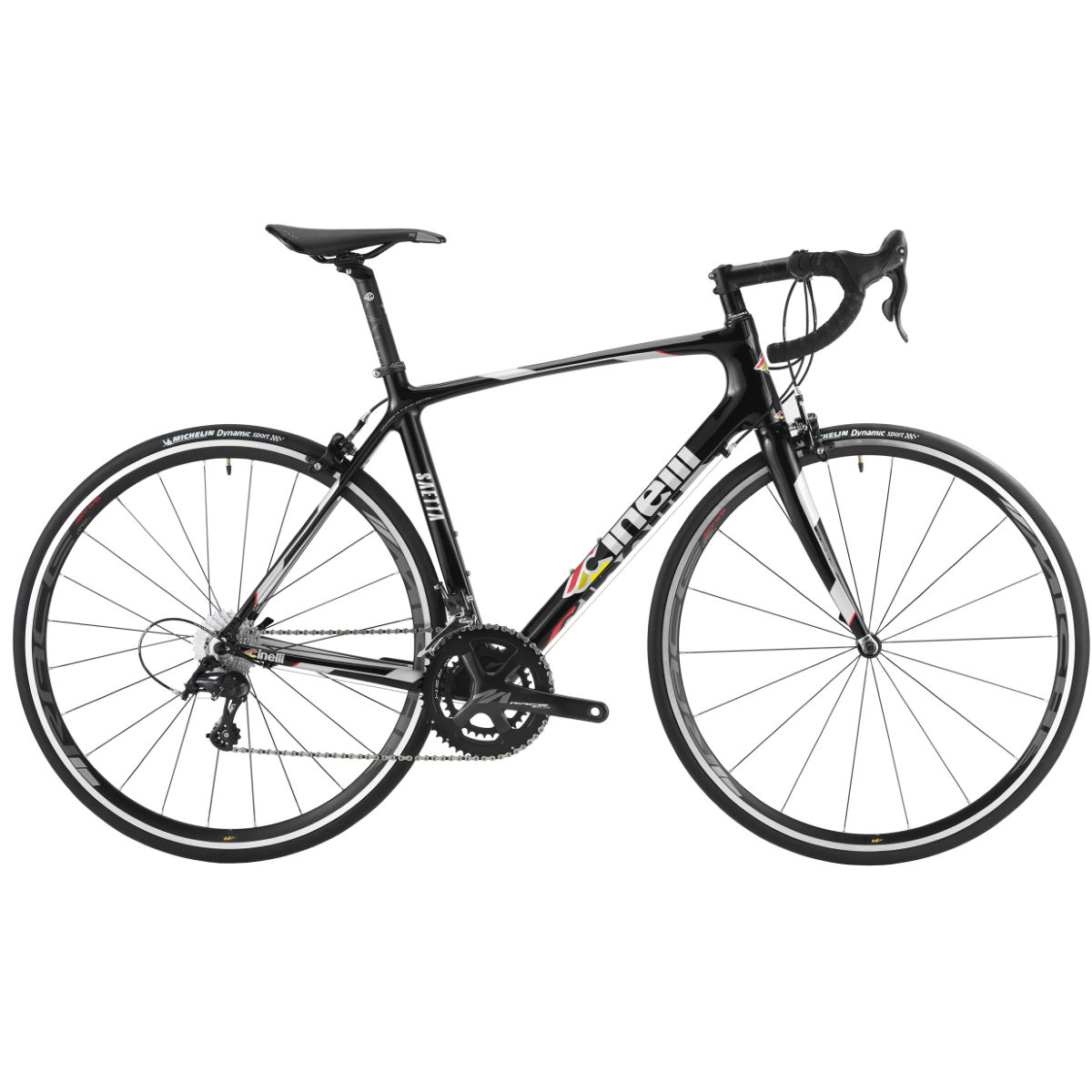 Vélo Cinelli Saetta Centaur - X Small Stock Bike Black Italo