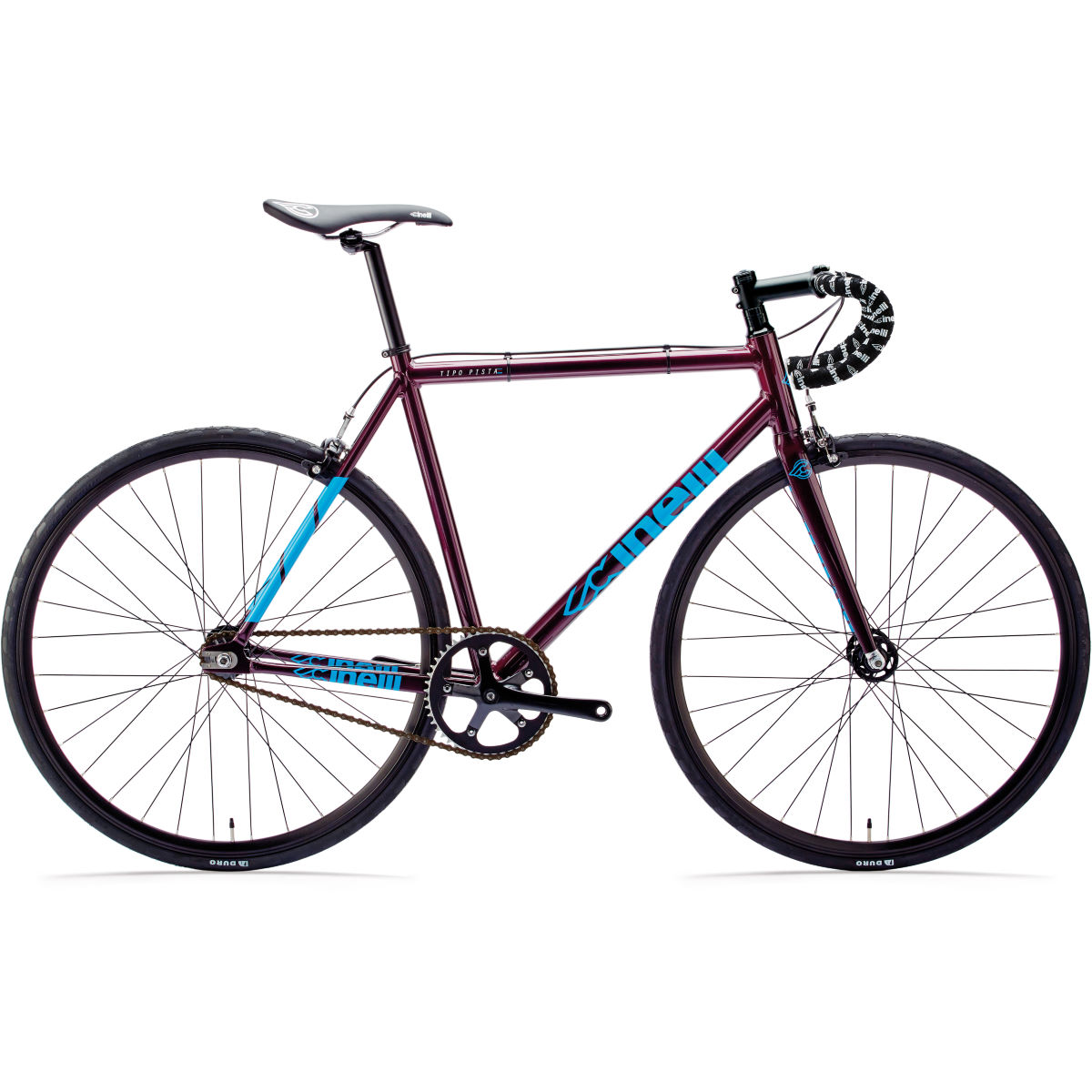 Vélo Cinelli Tipo Pista - X Small Stock Bike Purple Rain
