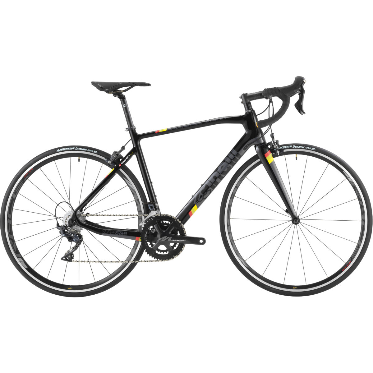 Vélo Cinelli Superstar Ultegra - X Small Stock Bike Black Tie