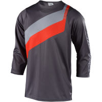 Troy Lee Designs Ruckus Jersey (Prisma) Grey/Orange S