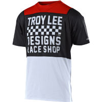 Troy Lee Designs Skyline Air Short Sleeve Jersey (Checker) Black/Wh