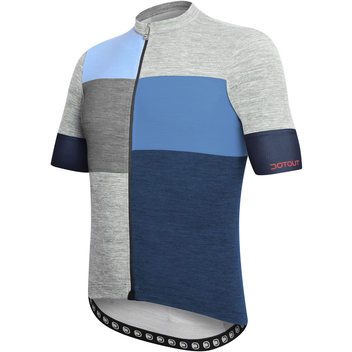 Dotout Square Jersey Grey/Red 3XL - S Grey/Blue