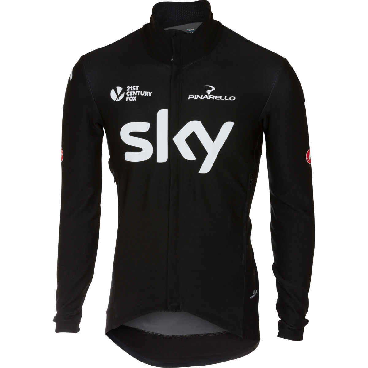 Maillot Castelli Team Sky Perfetto - S Noir Maillots