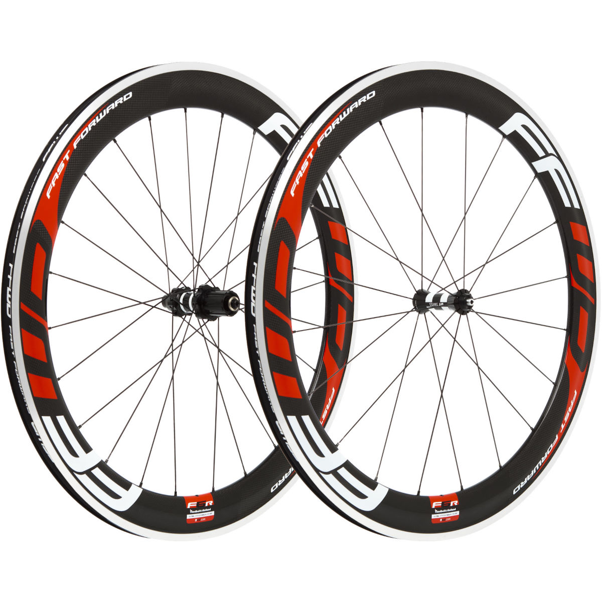 Fast Forward Carbon F6R Clincher 60mm SP Wheelset - Juegos de ruedas